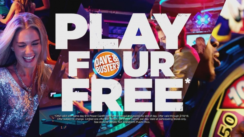 Dave & Buster's   Tomb Raider   Play 4 Adventurous Games Free 20180213205824