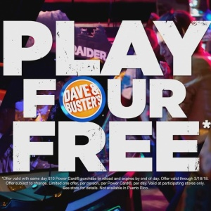 Dave & Buster's   Tomb Raider   Play 4 Adventurous Games Free 20180213205855
